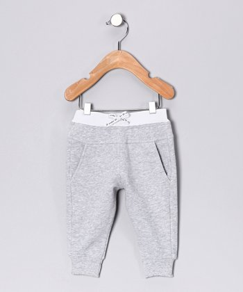 Heather Gray Skinny Lounge Pants - Infant & Toddler