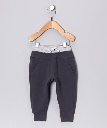 Dark Gray Skinny Lounge Pants - Infant & Toddler
