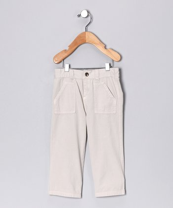 Beige Pants - Infant & Toddler