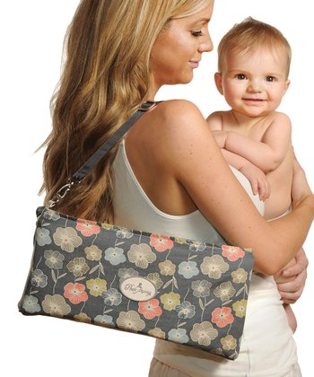 Gray Floral Essentials Nursing Kit