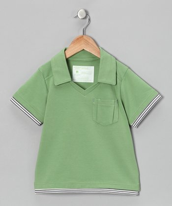 Go Grass Block Party Polo - Toddler & Boys