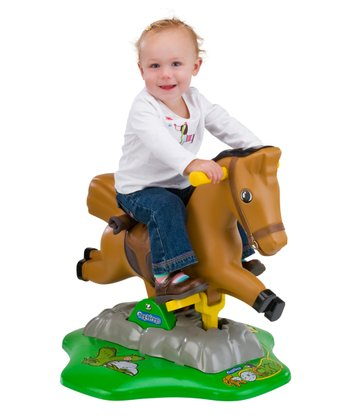 Rocky Motorized Rocking Horse