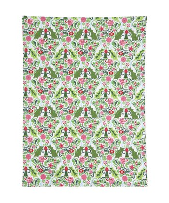 Flurry Poinsettia Kitchen Towel - Set of Two