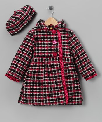 Penelope Mack Pink Coat & Hat - Infant, Toddler & Girls