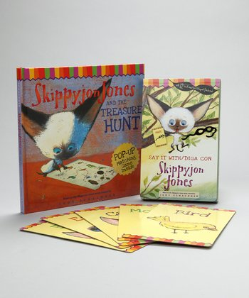 Skippyjon Jones Treasure Hunt & Say it With Hardcover Set