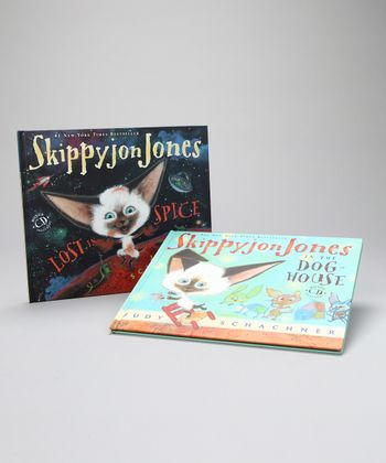 Skippyjon Jones in the Doghouse & Lost in Spice Hardcovers