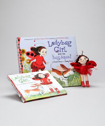 Ladybug Girl and the Bug Squad Hardcover & Doll Set