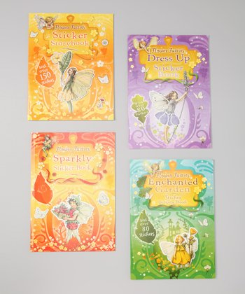 Flower Fairy Sticker Paperback Set