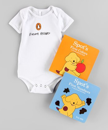 Spot Board Book & Bodysuit Set