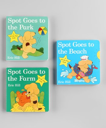 Spot Goes Board Book Set