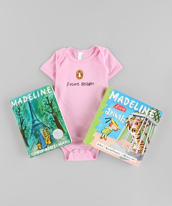 Madeline Board Book & Bodysuit Set