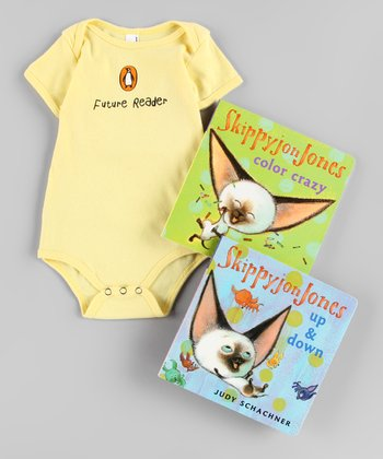 Skippyjon Jones Board Book & Bodysuit Set