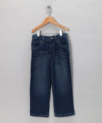 Blue Distressed Jeans - Toddler & Boys