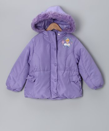 Lilac Disney Princess Jacket - Toddler & Girls
