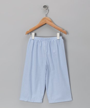 Light Blue Flannel Pants - Infant, Toddler & Boys
