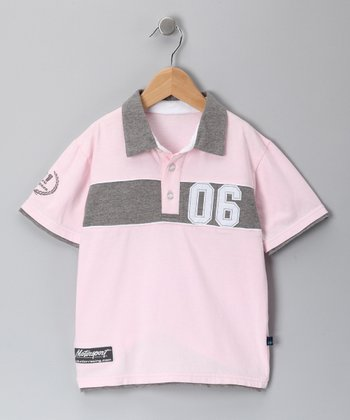 Pink Shel Polo - Infant, Toddler & Boys