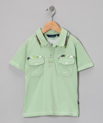 Green Sherwood Polo - Toddler & Boys