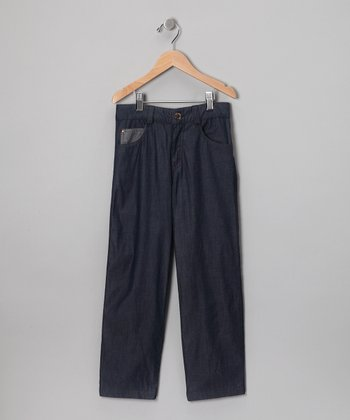 Navy Steve Pants - Toddler & Boys