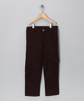 Brown Cargo Pants - Infant, Toddler & Boys