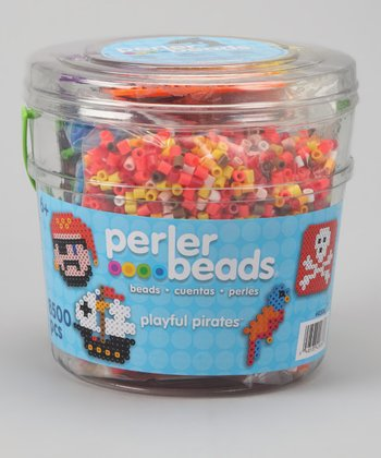 Playful Pirate Bead Bucket Set