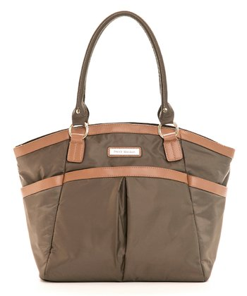 Brown Harper Diaper Bag
