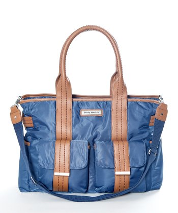 Blue Zoey Diaper Bag