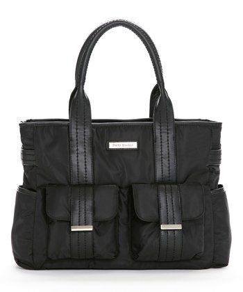 Black Zoey Diaper Bag