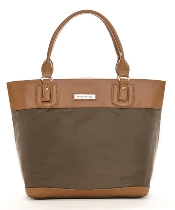 Brown Alexis Diaper Bag