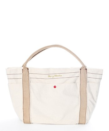 Cream Amy Diaper Bag