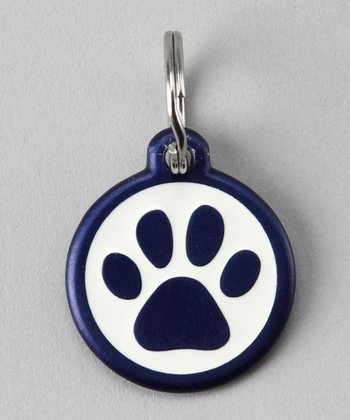 Blue Paw Red Dingo Pet ID Tag