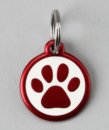Red Paw Red Dingo Pet ID Tag