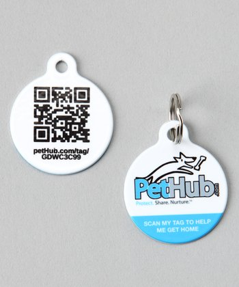 Fetch Dog! Premium Pet ID Tag