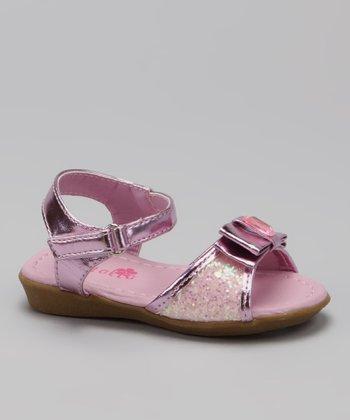 Pink Glitter Destiny Sandal