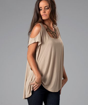 Tea Stain Alexa Top