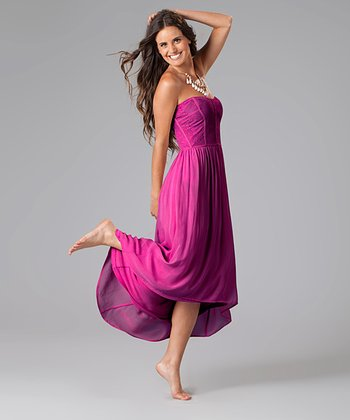Deep Orchid Christine Dress