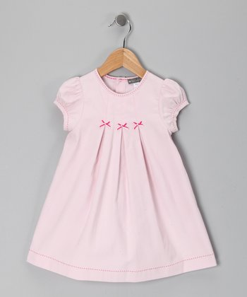 Pink Corduroy Swing Dress - Infant