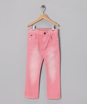 Worn Rose Amelie Jeans - Toddler & Girls