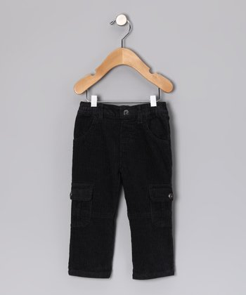 Gray College Club Cargo Pants - Infant