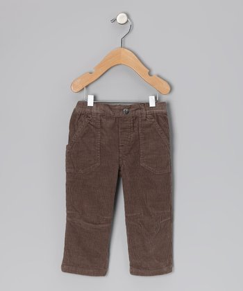 Brown So British Pants - Toddler