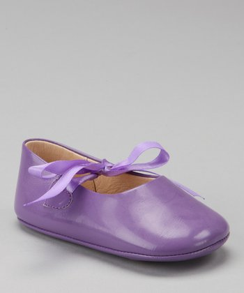 Purple Ribbon Patent Mary Jane