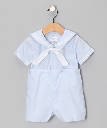 Blue Bobby Romper - Infant