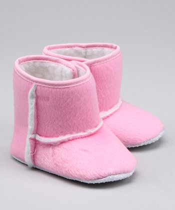 Light Pink Booties