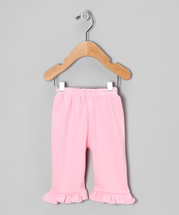 Pink Ruffle Pants - Infant & Toddler
