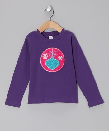 Purple Ornament Tee - Toddler
