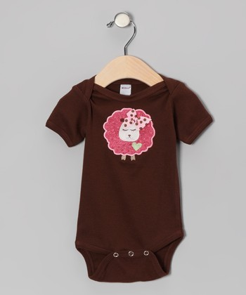 Brown Sheep Bodysuit - Infant