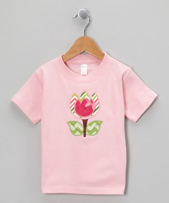 Pink Tulip Tee - Toddler