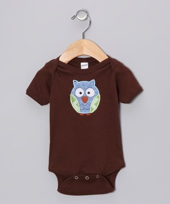 Brown Owl Bodysuit
