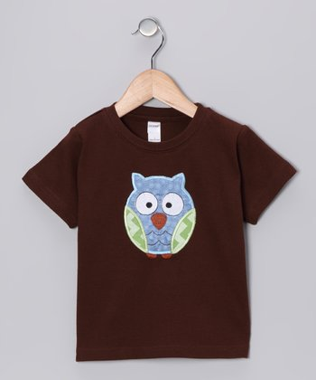 Brown Owl Tee - Toddler