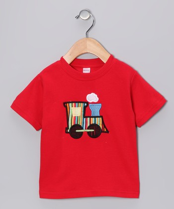 Red Train Tee - Toddler