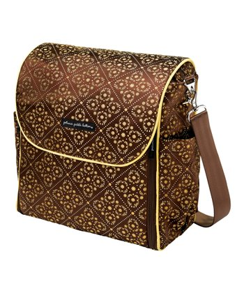 Toffee Roll Boxy Backpack Diaper Bag